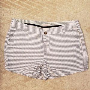 Merona seersucker shorts